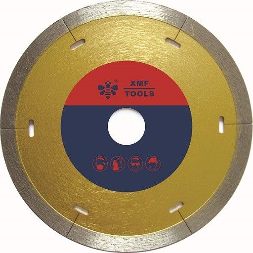 Laser Cut  Continuous Diamond Cutting Blade 115mm  For Tile Cermaic Procelain